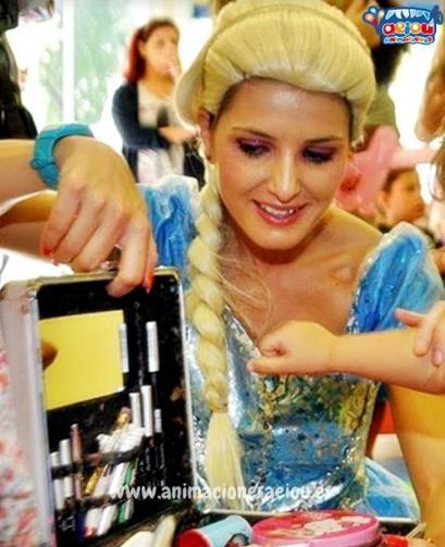 Animaciones para fiestas tematicas frozen en viscaya y guipuzcoa