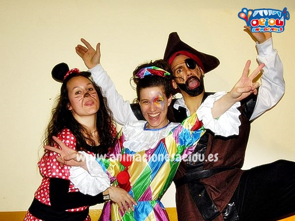 Animadores, magos y payasos en Córdoba