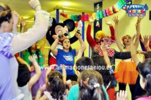Animadores para fiestas infantiles en Alicante a domicilio