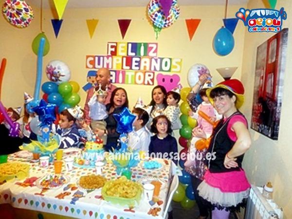 Animadores para fiestas infantiles en Valencia a domicilio