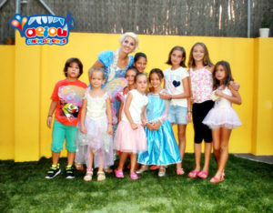 Animaciones para fiestas tematicas infantiles Frozen en Valencia, Alicante y Murcia