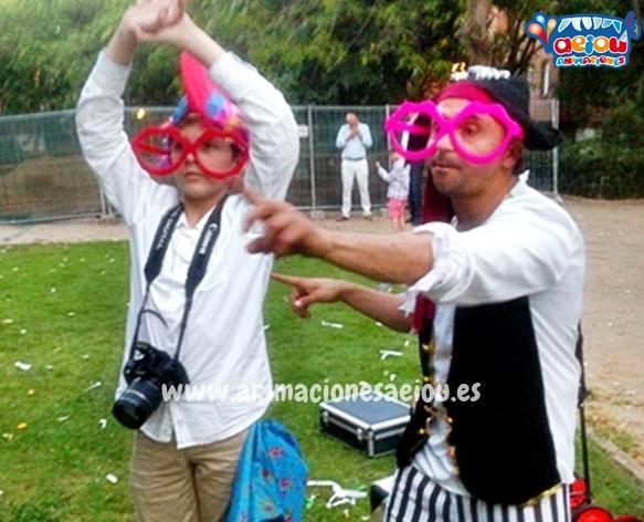 Animaciones para fiestas de cumpleaños infantiles en A Coruña