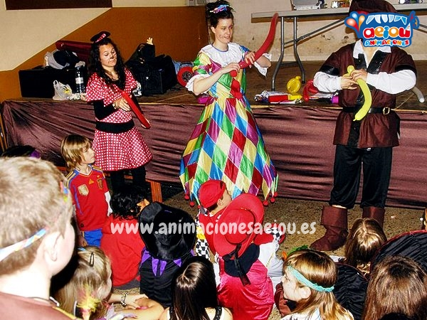 Payasos para fiestas infantiles en Donostia