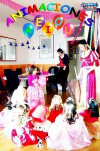 Animadores para fiestas infantiles en Gijón a domicilio