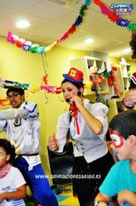 Animadores para fiestas infantiles en Granada a domicilio