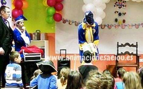 animaciones fiestas infantiles y comuniones en oviedo