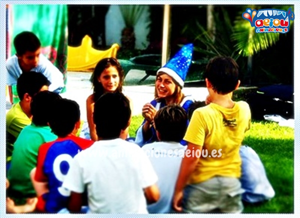 Magos para fiestas infantiles en Oviedo