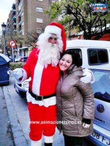 Papá Noel a domicilio en Pamplona