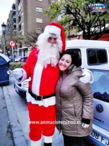 Papá Noel a domicilio en Vitoria