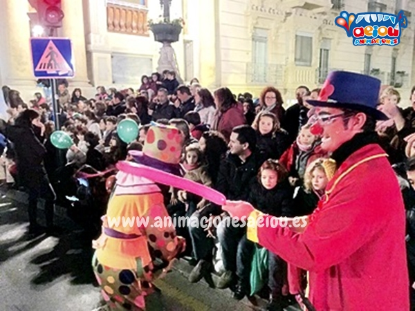 Payasos para fiestas infantiles en Murcia