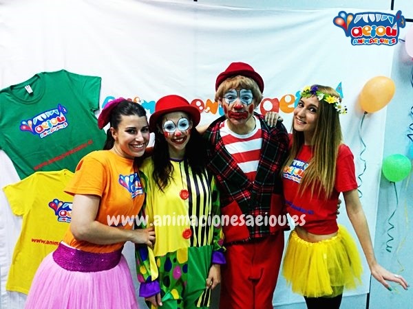 Payasos para fiestas infantiles en Ourense
