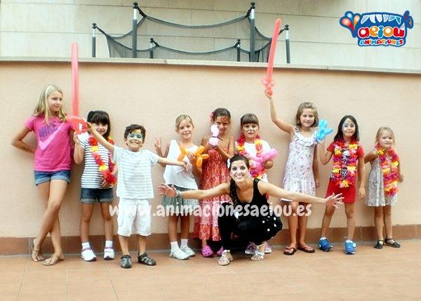 Animaciones de fiestas de cumpleaños infantiles en León