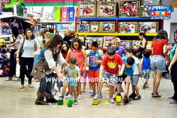 Animaciones para fiestas de cumpleaños infantiles en Santiago de Compostela