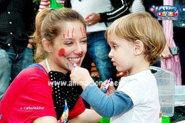 Animaciones para fiestas de cumpleaños infantiles y comuniones en Asturias