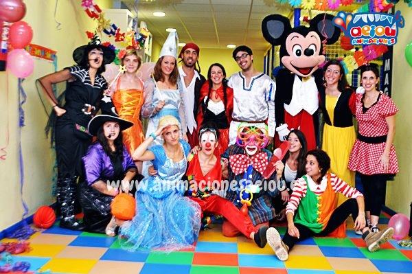 Animaciones para fiestas de cumpleaños infantiles y comuniones en Galicia