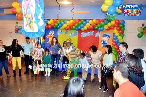 Animaciones para fiestas de cumpleaños infantiles y comuniones en Santiago de Compostela
