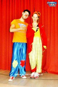 Animadores para fiestas infantiles en Badajoz a domicilio