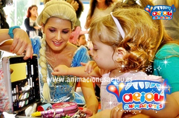 Fiestas Tematicas Frozen en Pamplona