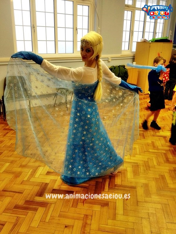 Fiestas Tematicas Infantiles Frozen en Vitoria