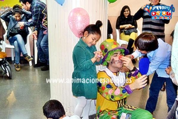 Payasos para fiestas infantiles en Badajoz