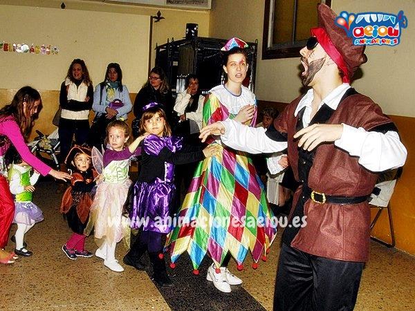 Payasos para fiestas infantiles en Zaragoza