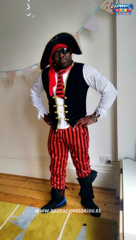 Fiestas Temáticas de Piratas en Vitoria