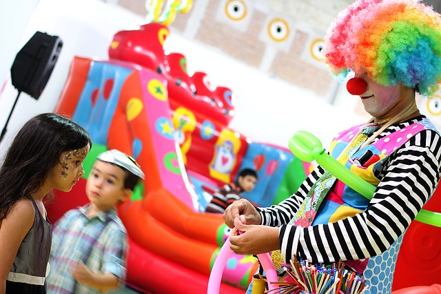 5 divertidos juegos para cumpleaños infantiles