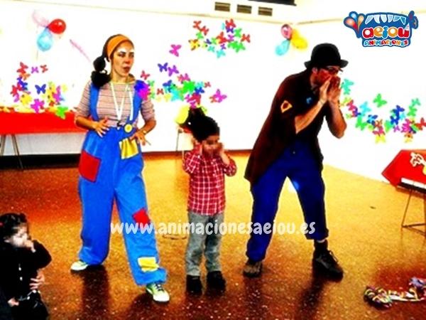 Payasos para fiestas infantiles en Cantabria