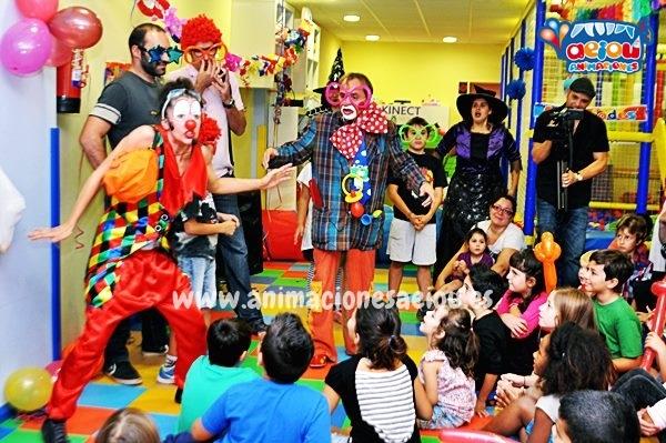 Payasos para fiestas infantiles en Tenerife