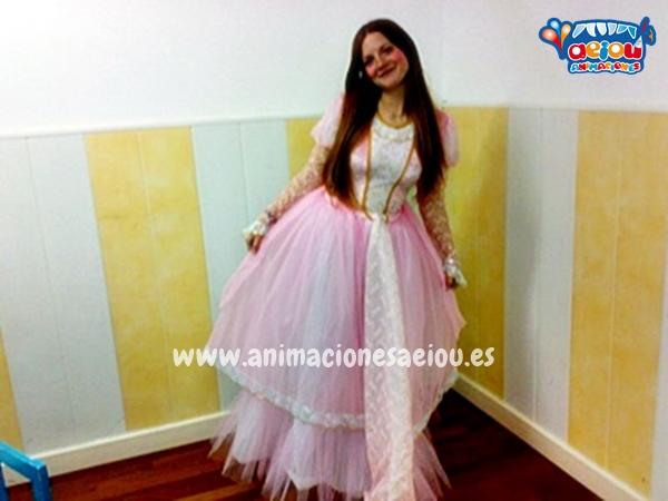 Animadores de cumpleaños infantiles temáticos de princesas en Vitoria