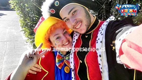 Fiestas de cumpleaños infantiles temáticas de princesas en Vitoria