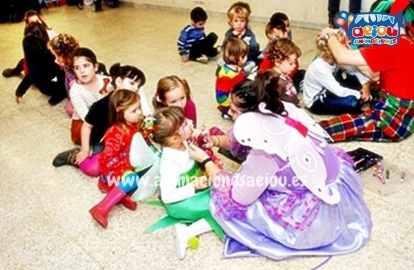 Sorpresas en las fiestas infantiles en Pamplona Navarra