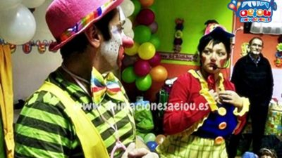 Qué hacen los payasos del circo