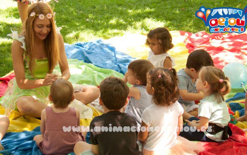 Animadores para fiestas infantiles en El Cuéllar