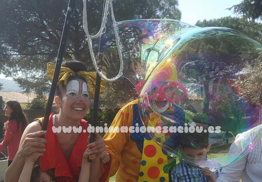 Payasos para fiestas infantiles en El Espinar